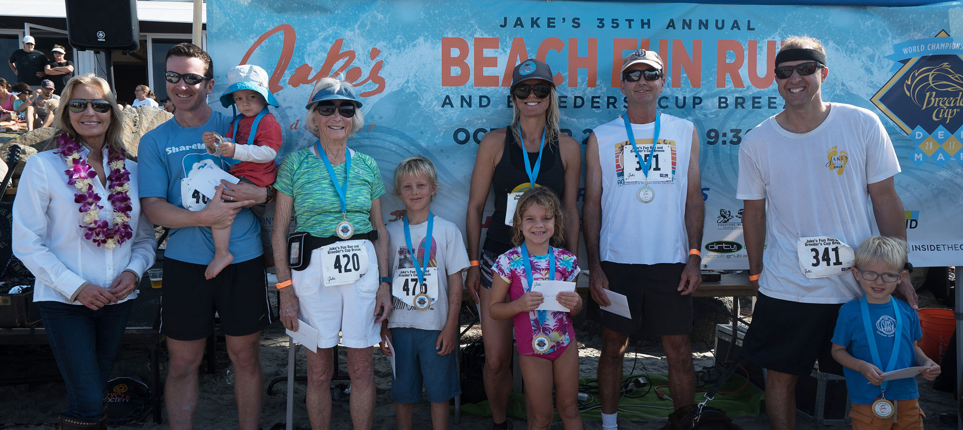 Jake's Beach Fun Run